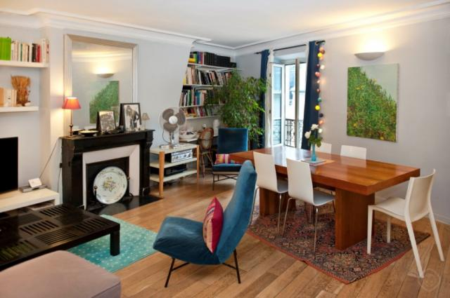 Chic Saint Germain apartment Paris